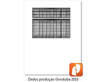 Produção 2010