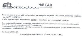 Regularização do CAR Individual.