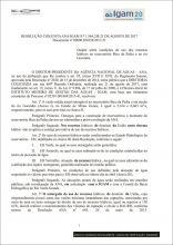 RESOLUÇÃO CONJUNTA ANA/IGAM